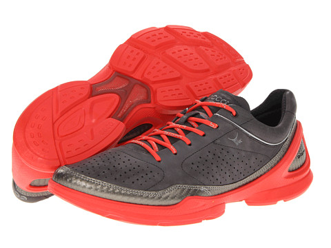 Ecco Performance - Biom EVO Racer Plus (Buffed Silver/Dark Shadow) Women's Running Shoes