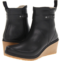 Tretorn Plask Mid (Black) Footwear