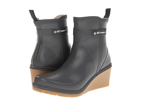 Tretorn - Plask Mid (Gunmetal) Women's Rain Boots