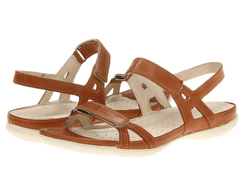 ECCO Flash Ankle Sandal (Lion) Women's Sandals