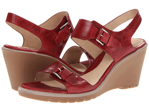 ECCO - Adora 2 Strap Sandal (Brick) Women's Wedge Shoes