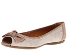 Clarks - Aldea Joy (Natural Canvas) - Footwear