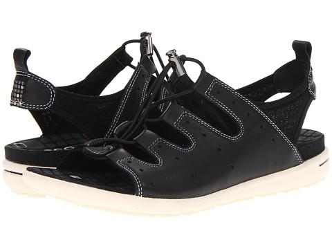 ECCO - Jab Toggle Sandal (Black/Black) Women