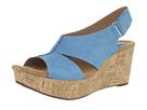 Clarks - Caslynn Lizzie (Teal Nubuck) - Clarks Shoes