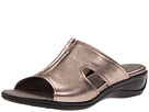 ECCO - Sensata Sandal Slide (Warm Grey Metallic) -