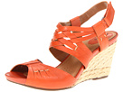 Clarks - Kyna Smart (Orange Leather) - Clarks Shoes