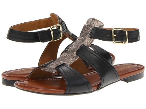 Clarks - Indira Arjun (Black Leather) Women's Shoes