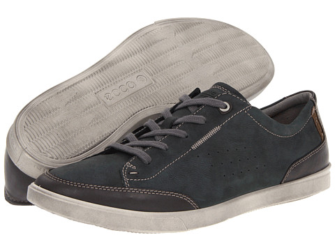 ecco Men's Shoes COLLIN - Casual lace-ups - moonless