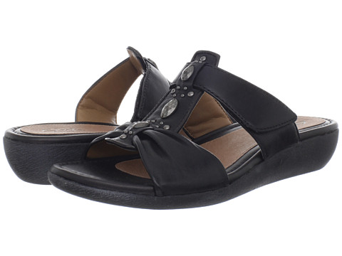 Clarks - Jandi Gem (Black Leather) Women