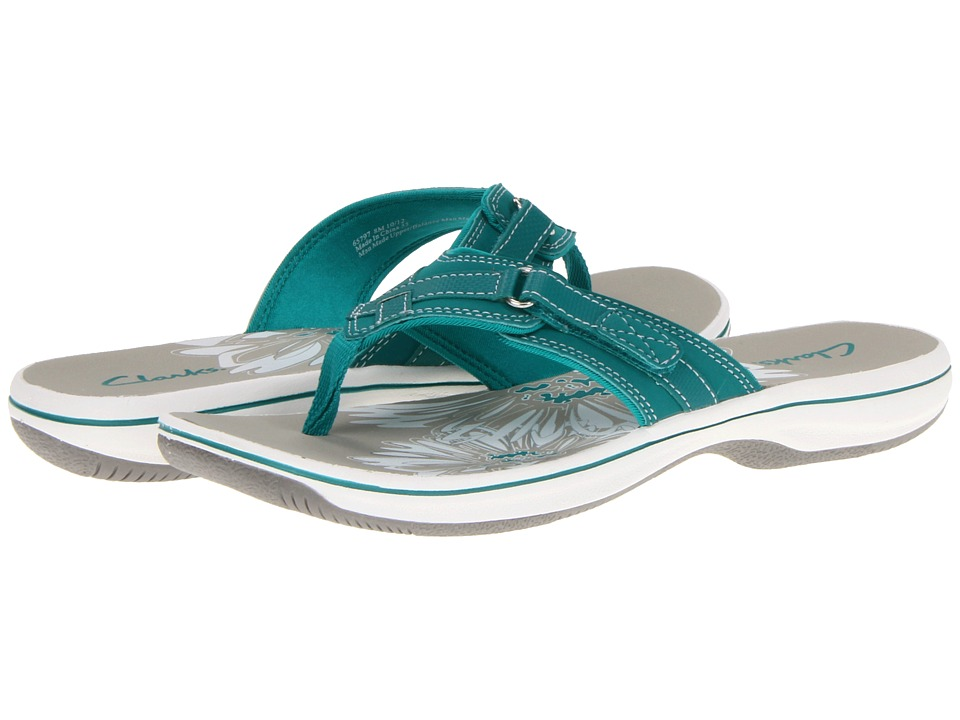 Clarks - Breeze Sea (Teal) Women