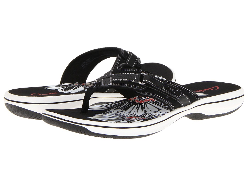 Clarks - Breeze Sea (Black) Women's Sandals
