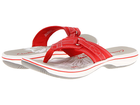 Clarks - Breeze Sea (Coral) Women's Sandals