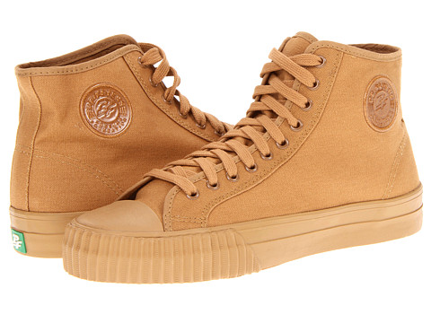 PF Flyers - Center Hi (Brown/Canvas) Lace up casual Shoes