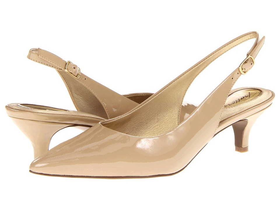 Trotters - Prima (Nude Patent) Women's 1-2 inch heel Shoes