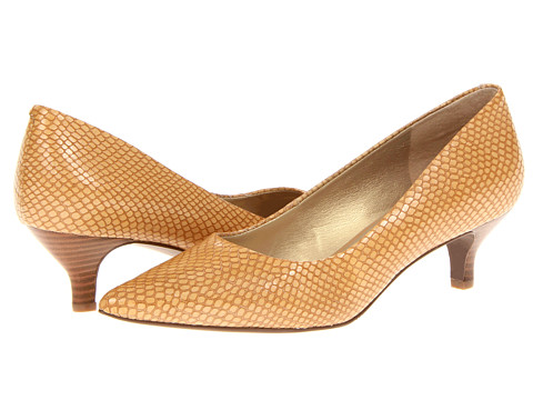 Trotters - Paulina (Nude Snake) Women's 1-2 inch heel Shoes