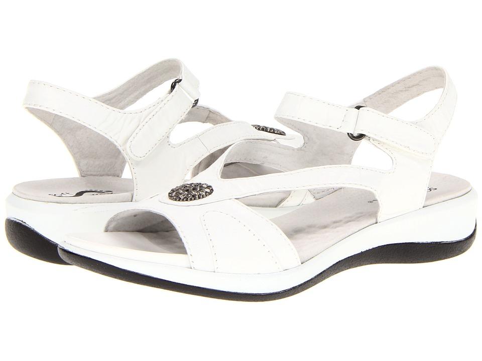 SoftWalk - Toledo (White Veg Calf Leather) Women