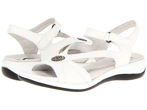 SoftWalk - Toledo (White Veg Calf Leather) Women