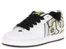 DC - Court Graffik SE (White/Black/Green) - Footwear
