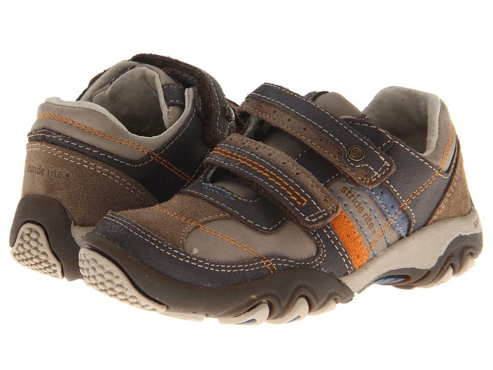 Stride Rite - SRT PS Zeke (Toddler/Little Kid) (Brown) Boy's Shoes