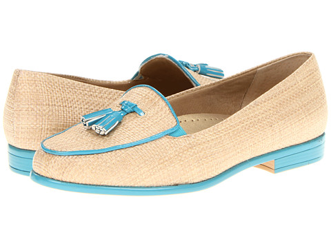 Trotters - Leana (Natural/Turquoise) Women