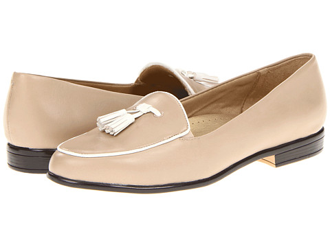 Trotters - Leana (Nude/White) Women's Slip on Shoes