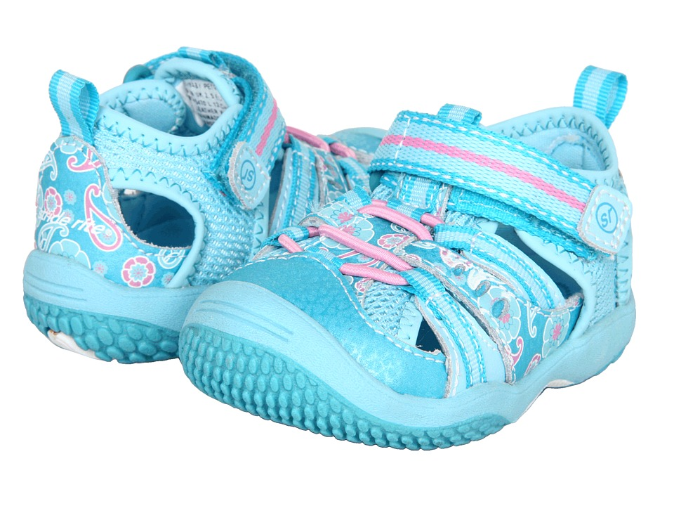 Stride Rite - Baby Petra (Infant/Toddler) (Scuba/Pink) Girl's Shoes