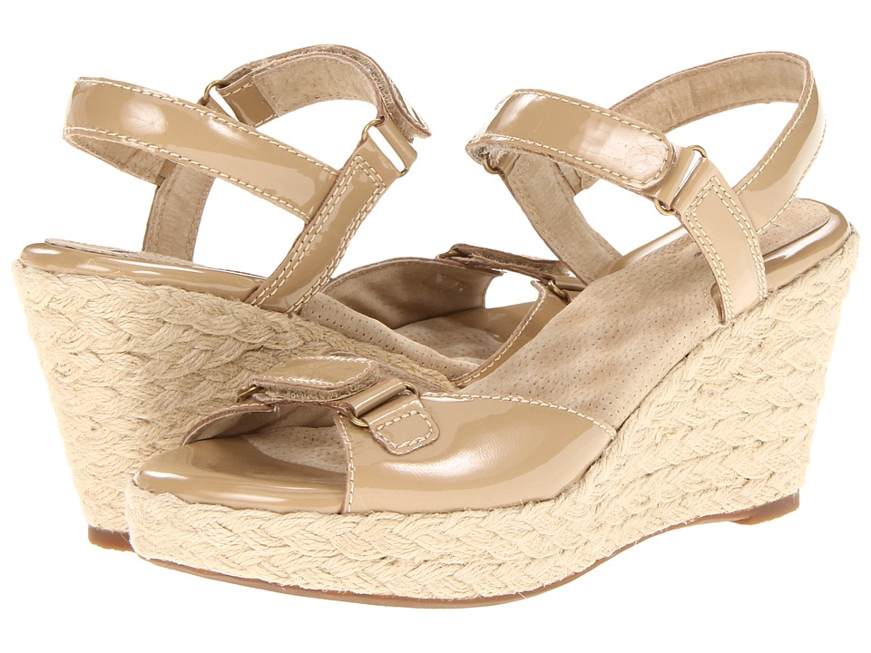 SoftWalk - San Marino (Nude Patent Leather) Women