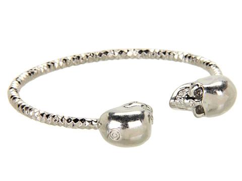 Alexander McQueen - Twin Skull Bracelet (Black Diamond) Bracelet
