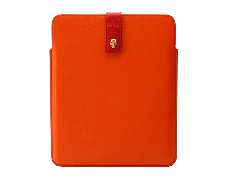 Alexander McQueen - Tablet Holder (Deep Blush/Black) Computer Bags