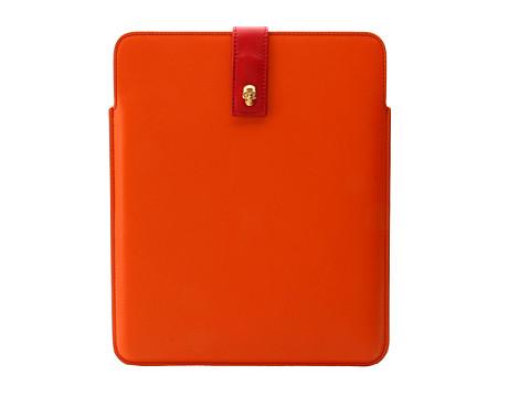 Alexander McQueen Tablet Holder (Deep Blush/Black) Computer Bags