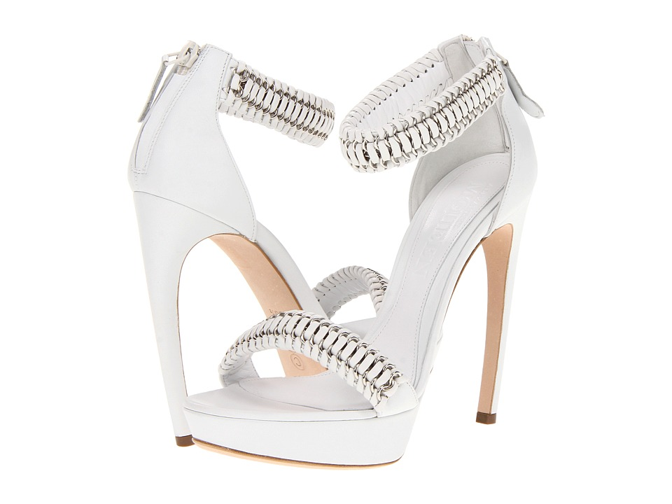 Image of Alexander McQueen - 314778WARA4 9065 (Opt. White/White) High Heels