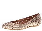 Corso Como Floral (Brass Calf) Women's Flat Shoes