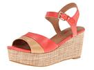 Corso Como Naan (Coral/Nude) Women's Wedge Shoes