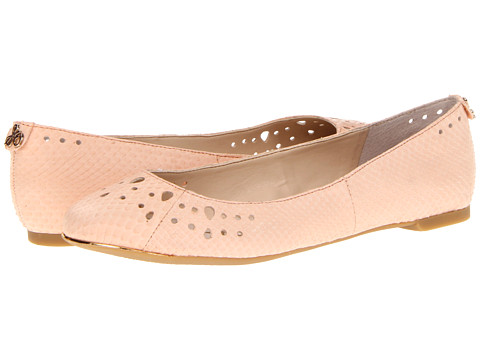 Shop Sam Edelman online and buy Sam Edelman Leighton Peach Melba Shoes - Sam Edelman - Leighton (Peach Melba) - Footwear: Make a sassy statement with these sweet Sam Edelman flats! ; Easy slip-on wear. ; Leather upper with cute cutouts. ; Man-made lining. ; Lightly cushioned man-made footbed. ; Man-made sole. ; Imported.