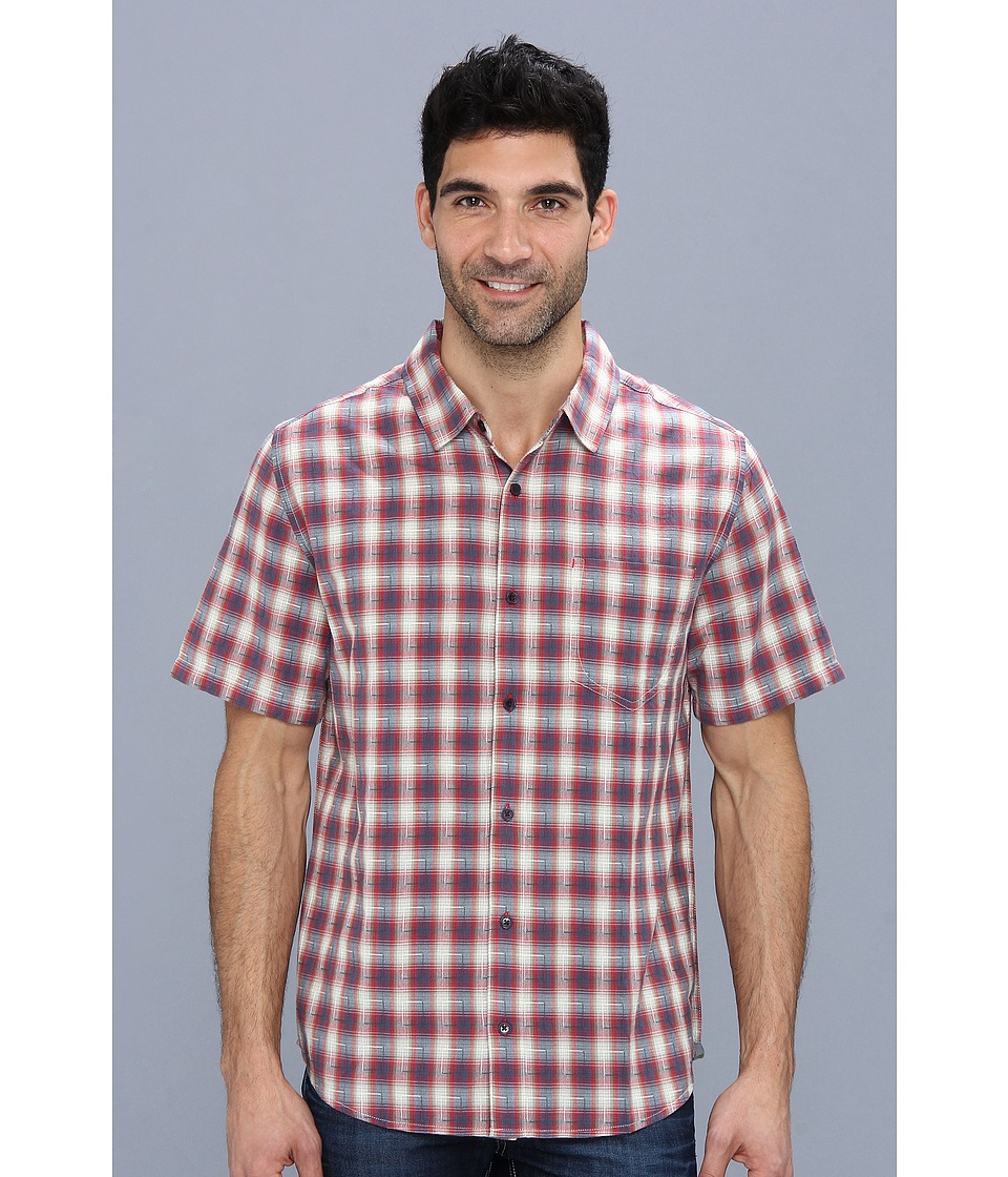 Toad&Co - Open Air S/S Shirt (Red Wagon) Men's Short Sleeve Button Up