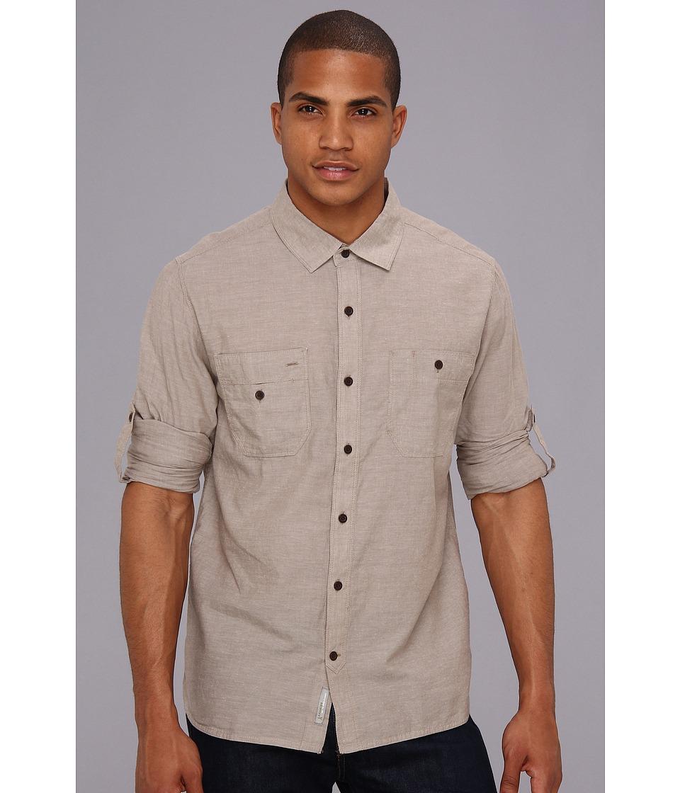 Toad&Co - Honcho Shirt (Clove) Men's Clothing