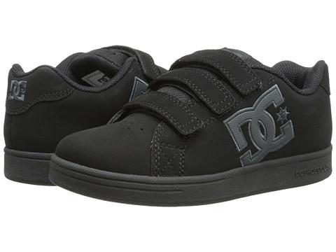 DC Kids - Character V (Little Kid/Big Kid) (Black/Black) Boys Shoes