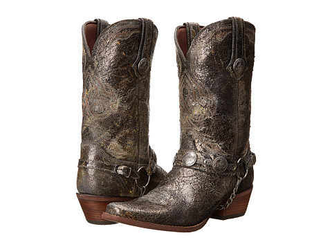 Durango - Gambler 12 Concho Harness Boot (Distresses Calico) Cowboy Boots