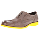 Wolverine 1883 Horace (Light Grey/Yellow) Men's Lace Up Wing Tip Shoes