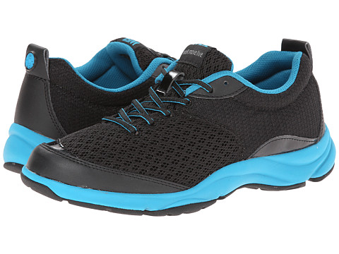 VIONIC with Orthaheel Technology - Dr. Weil with Orthaheel Technology Rhythm Walker (Black/Teal) Women's Shoes