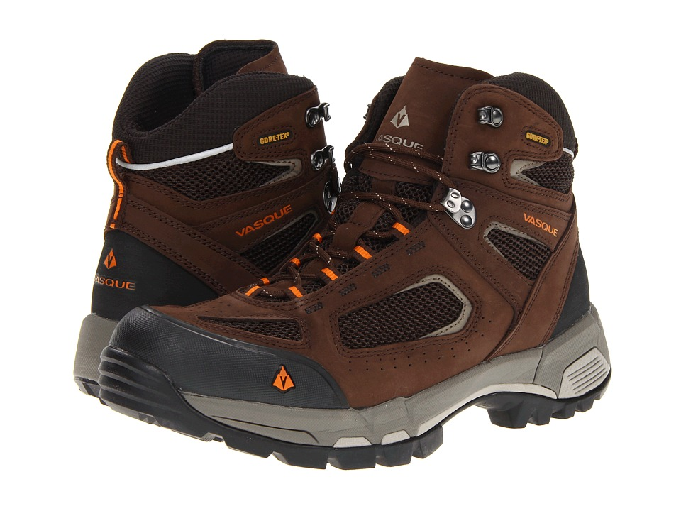 Vasque - Breeze 2.0 GTX (Slate Brown / Russet Orange) Men's Hiking Boots