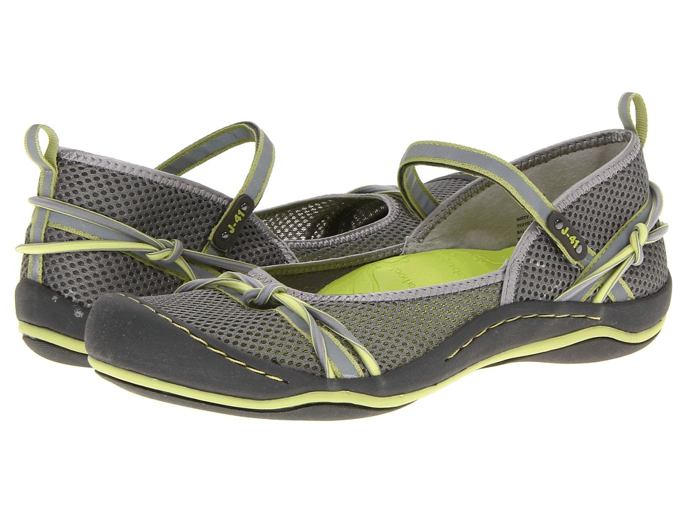 J-41 - Misty (Grey/Pistachio) Women's Shoes