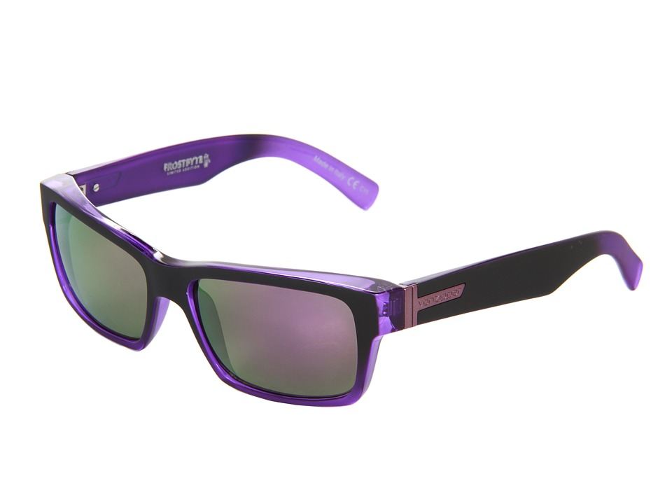 VonZipper - Fulton (Black/Purple) Sport Sunglasses