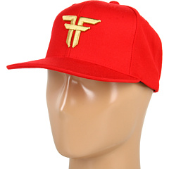 SALE! $14.99 - Save $13 on Fallen Trademark Starter Cap (Blood Red Gold) Hats - 46.46% OFF $28.00