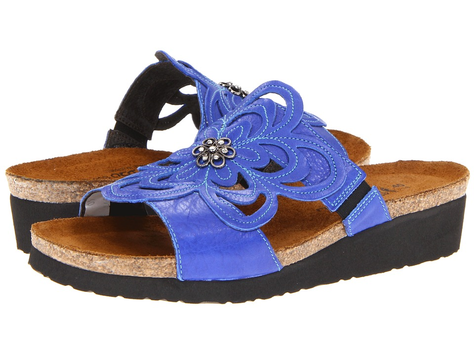 Naot Sandy (Royal Blue Leather) Women