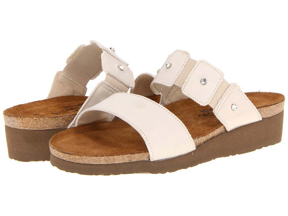 Naot Footwear - Ashley (Dusty Silver Leather) Women's Sandals