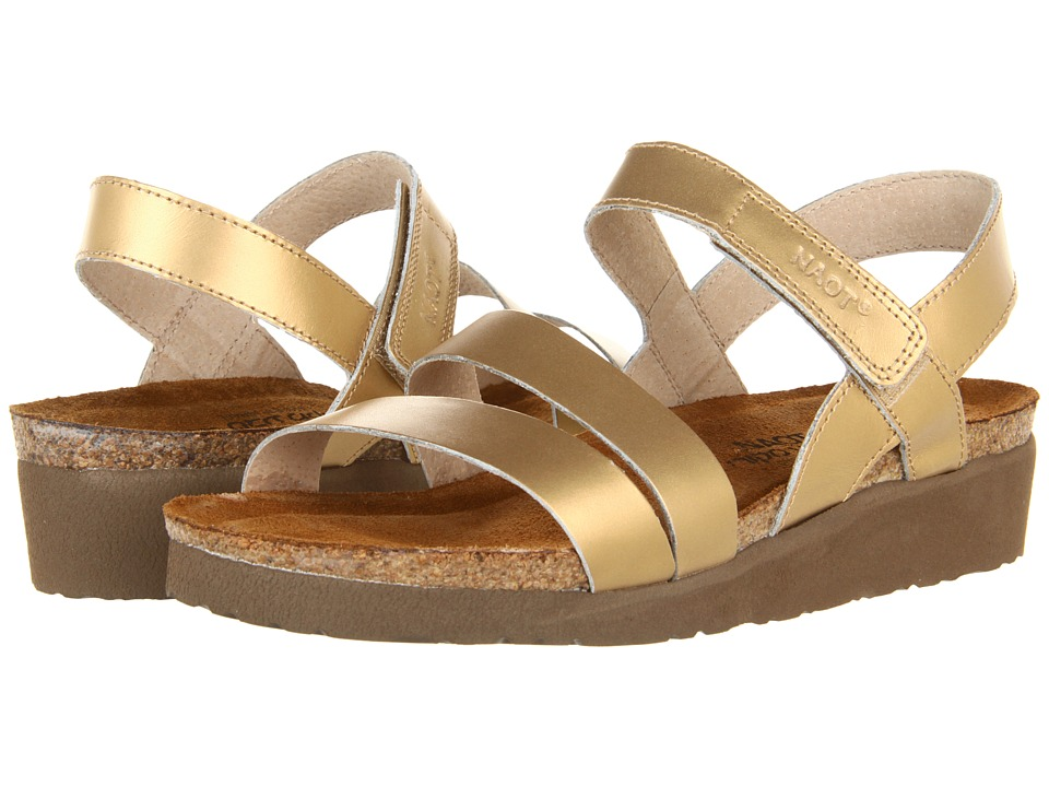 Naot Footwear - Kayla (Gold Sheen Leather) Women