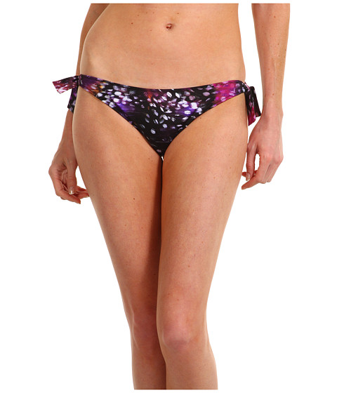 Paul Smith - Paint Brush Stroke Side Tie Brief (Purple) Women