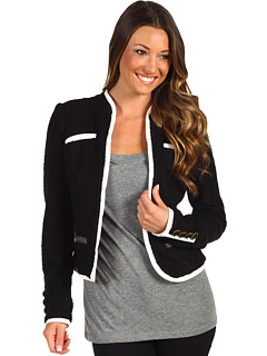 SALE! $69.99 - Save $128 on DEPT Dandy Boucle Jacket (Black) Apparel - 64.65% OFF $198.00