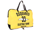 DSQUARED2 - Chris Nylon Duffel Bag (Yellow) - Bags and Luggage